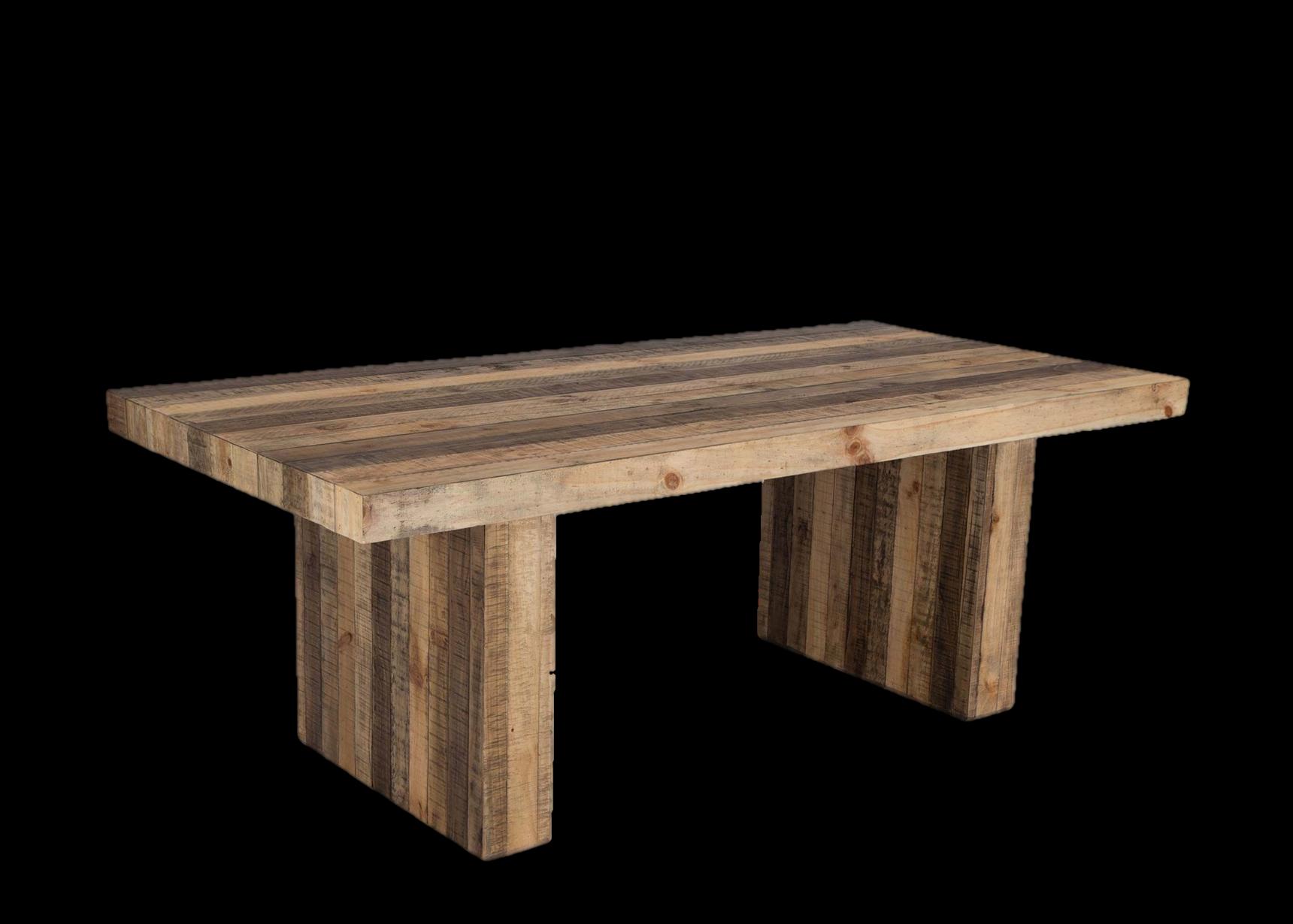 דיויד שולחן אוכל מעץ מלא