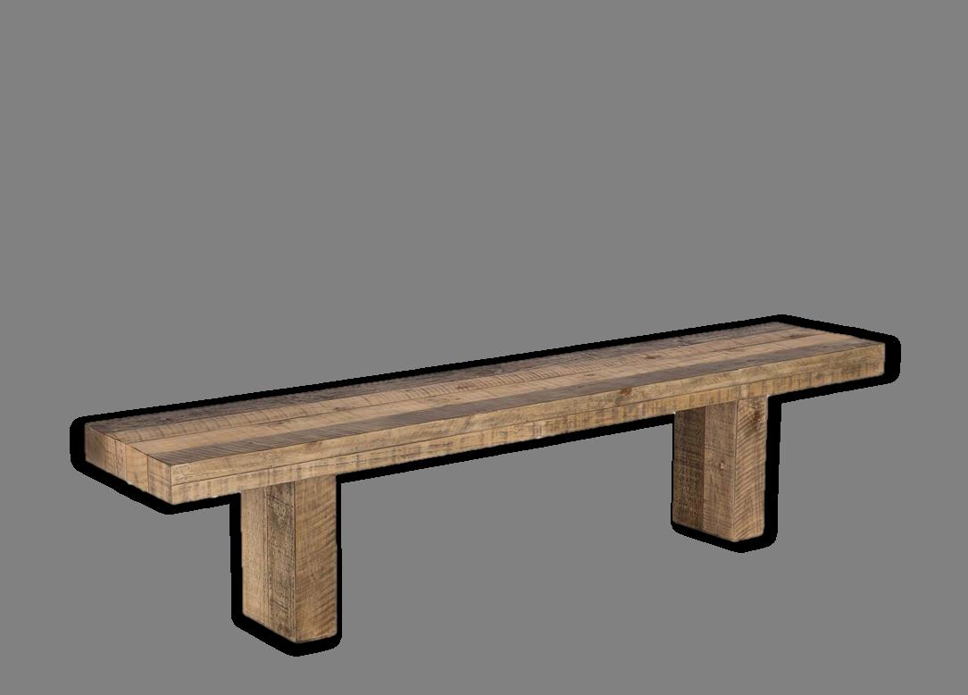 ריי ספסל מעץ אורן מיושן