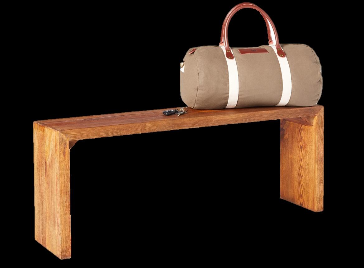 דון ספסל מעץ אורן מיושן