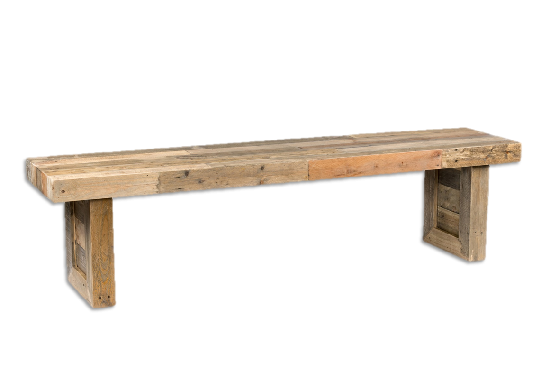תומס ספסל מעץ ממוחזר