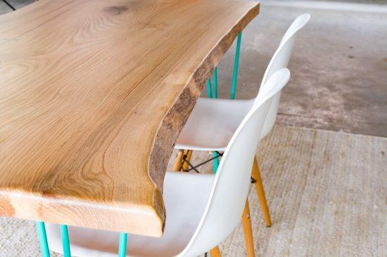 שולחן אוכל מעוצב