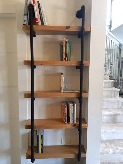 ספרייה לסלון